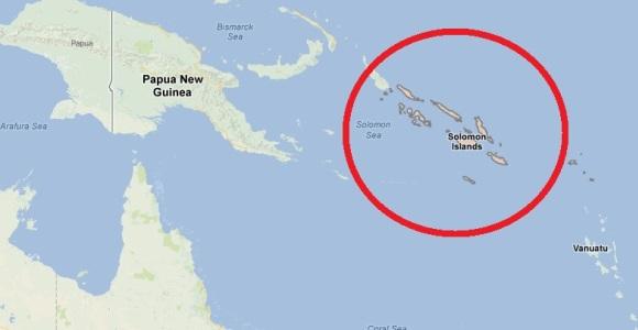 Segundo terremoto estremece hoy las Islas Salomón