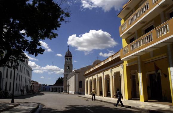 Plaza del Himno en Bayamo. Foto: Ismael Francisco/Cubadebate.