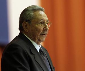 Raúl Castro durante clausura del Parlamento cubano.