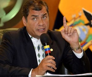 Rafael Correa. Foto de Archivo