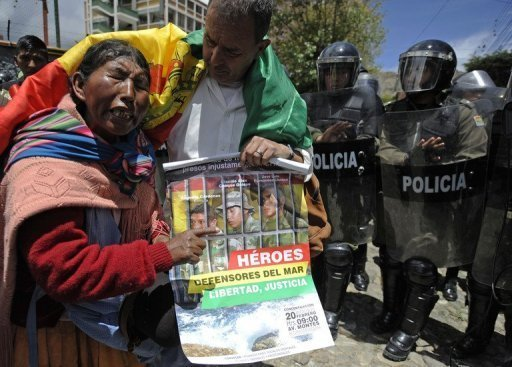 Los tres soldados bolivianos fueron acusados de entrar ilegalmente a Chile