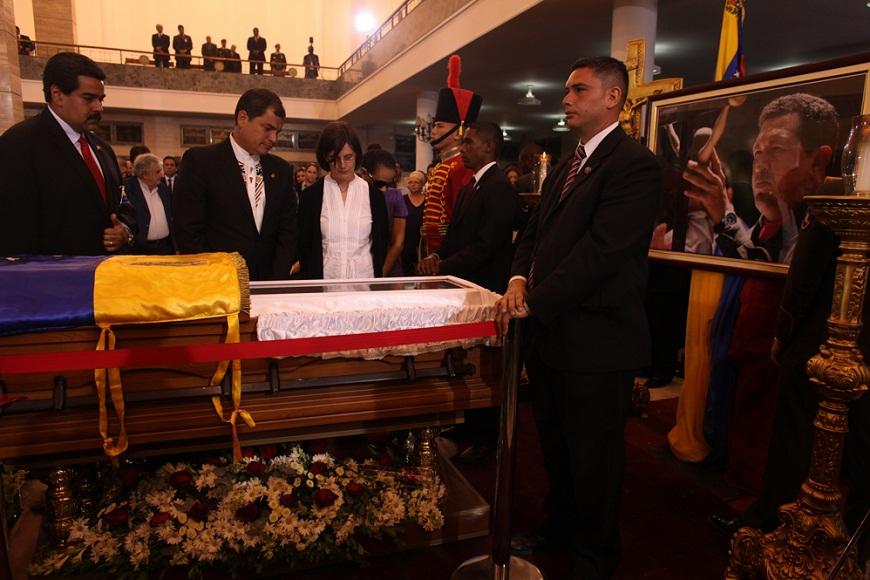 Presidentes latinoamericanos subrayan legado de Chávez
