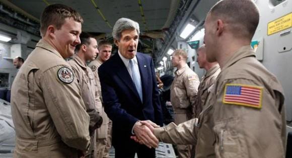 EE.UU. quiere que Irak bloquee el paso de Irán por su espacio aéreo