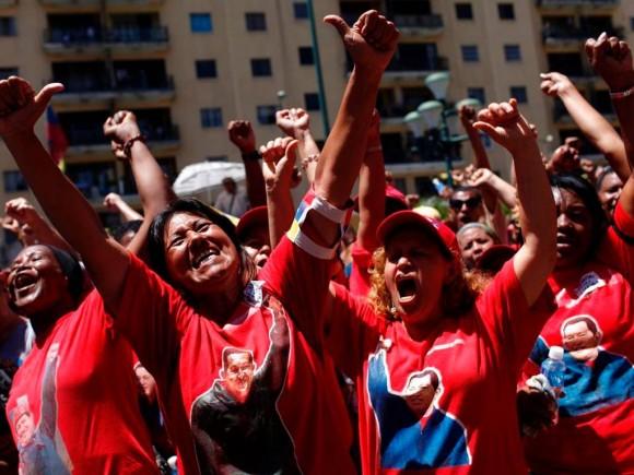 Mujeres venezolanas reafirman su apoyo a la Revolución bolivariana