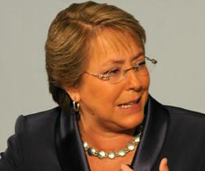 Michelle Bachelet, presidenta de Chile. Foto de archivo / AFP.