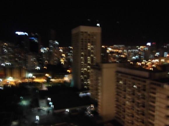 Caracas en la noche triste.