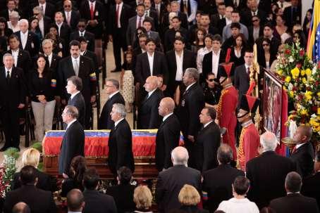 Guardia de Honor de los Jefes de Estado, entre ellos el Presidente de Colombia Juan Manuel Santos