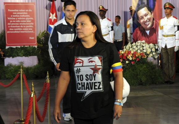 Homenaje póstumo al Presidente Hugo Chávez. Foto: Ladyrene Pérez/Cubadebate.