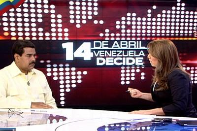 NICOLAS MADURO EN TELESUR