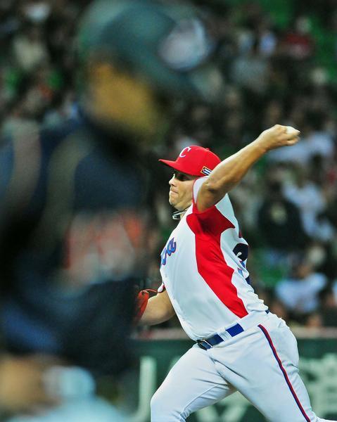 El equipo de Cuba  ganó a la selección de Japón,  6-3,  en el III Clásico Mundial de Béisbol  en la ciudad de Fukuoka, en Japón, el 6 de marzo de 2013. AIN FOTO POOL/Ricardo López Hevia/Periódico Granma