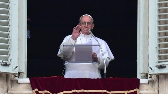 Papa Francisco durante misa de entronización