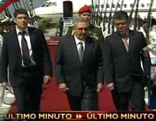RAúl en Venezuela