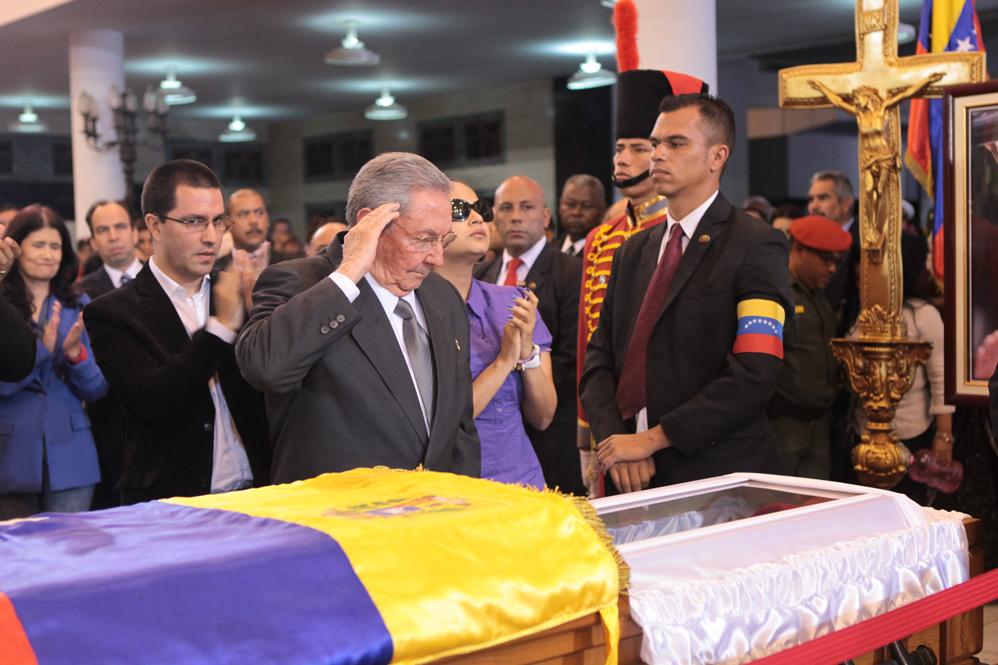 Presidente de Cuba, Raúl Castro. FOTO: MIraflores