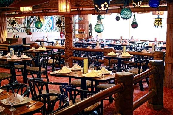 Restaurante El Polinesio. Foto cortesía Meliá Cuba