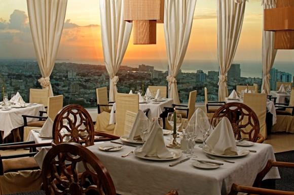 Restaurante gourmet Sierra Maestra. Foto cortesía Meliá Cuba