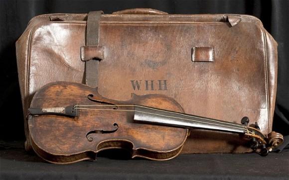 Legitiman hallazgo de violín del director de orquesta del Titanic