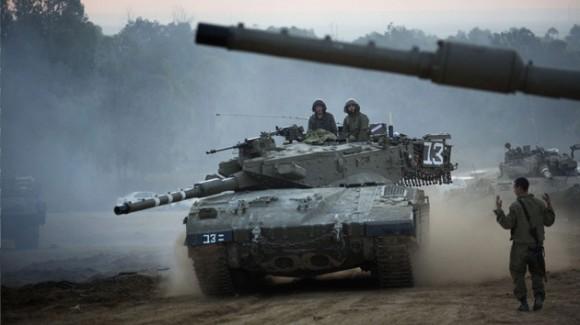 tanque usado en guerra israelí