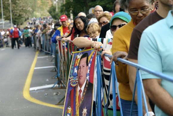 Homenaje póstumo al Presidente Hugo Chávez. Foto: Daylén Vega/Cubadebate.