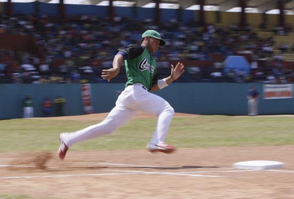 Joan Moncada, de Cienfuegos ganador de las dos pruebas de corrido a las bases. Foto: Ismael Francico: Ismael Francisco/Cubadebate.