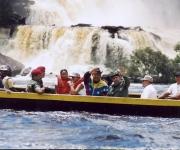 Fidel y Chavez en Venezuela el 12 de agosto de 2001