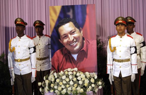 Diplomáticos latinoamericanos en Cuba despiden a Chávez