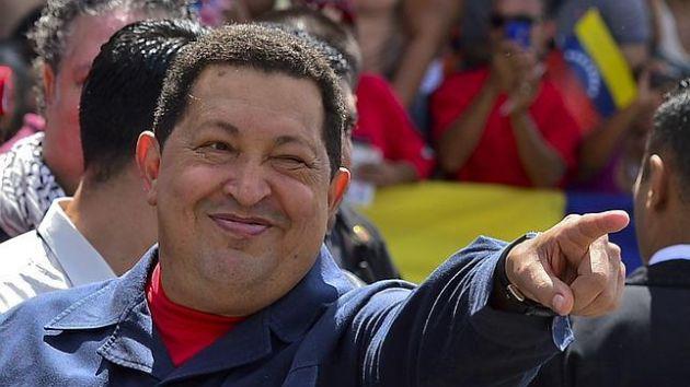 Hugo Chávez. Foto: AFP
