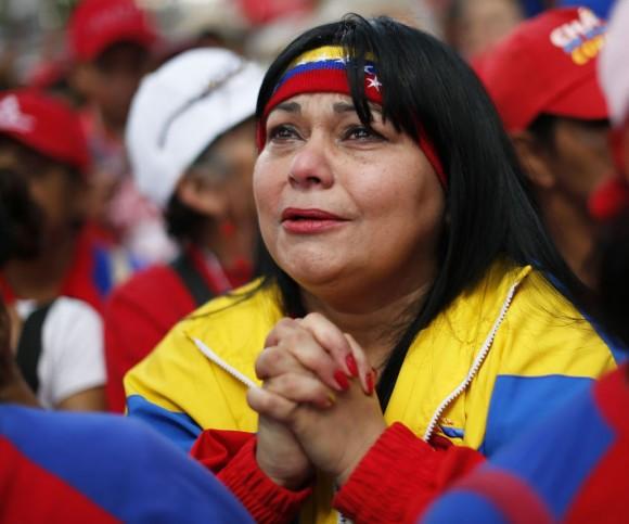 El pueblo venezolano llora a su presidente