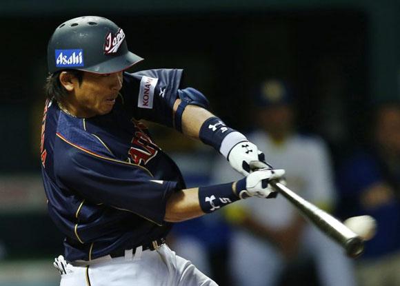 Matsuda fue el mejor bateador de los samurais. Foto: Yahoo.