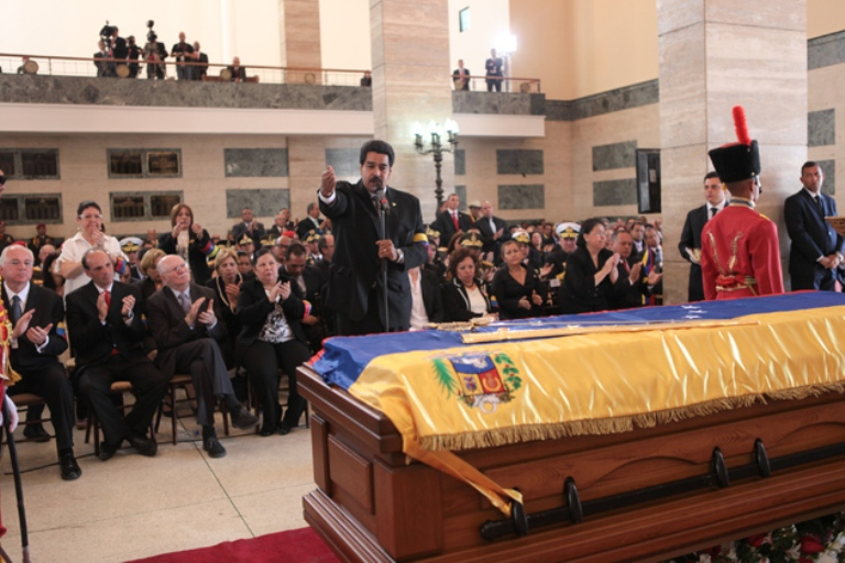 Chávez está invicto y vivo para siempre: Nicolás Maduro (+ Fotos)