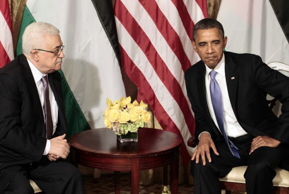 Barack Obama, Mahmoud Abbas