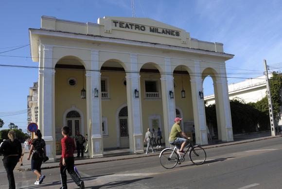 Teatro Milanés. Foto: Ladyrene Pérez/Cubadebate.