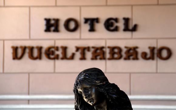 Detalle del lobby del Hotel Vueltabajo. Foto: Ladyrene Pérez/Cubadebate.