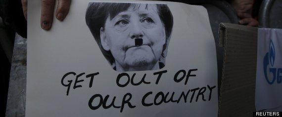 """""""Fuera de nuestro país"""". Foto: Reuters."""