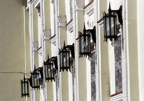 Detalle del Teatro Milanés. Foto: Ismael Francisco/Cubadebate.