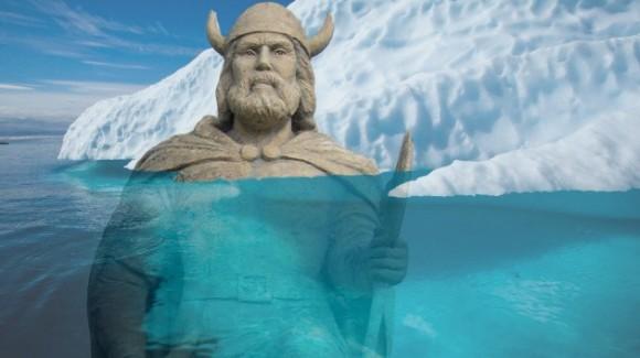 Restos de vikingos descubiertos por calentamiento global