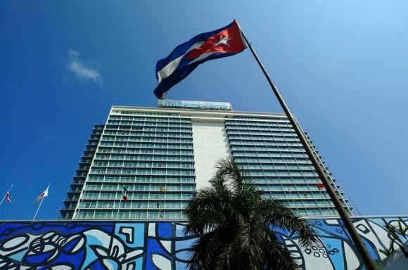 Vista exterior del hotel Habana Libre. Foto: Cortesía Melía Cuba.