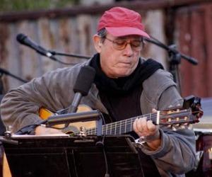 Silvio Rodríguez en la gira por los barrios. Foto: Alejandro Ramírez Anderson.