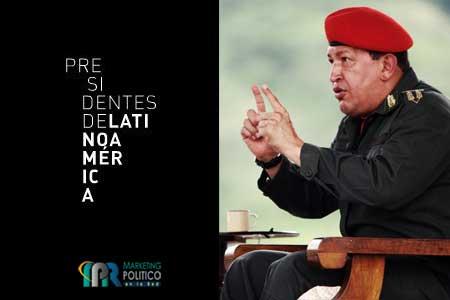 Chávez en la serie presidentes latinoamericanos
