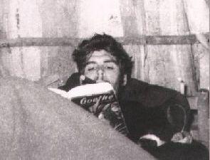 Che Guevara leyendo a Goethe