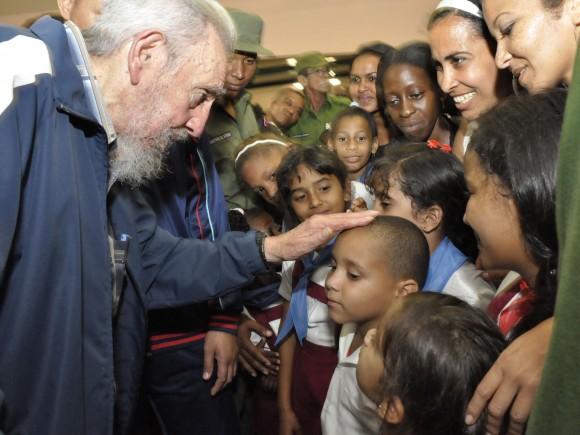 Fidel otra vez en esta ciudad