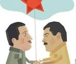 """""""Yo no tengo dudas,  además de que estoy juramentado como todos nosotros por el Comandante Chávez para elegirlo Presidente, de que Nicolás es un hijo de Chávez y será un Presidente Patriota.""""  Elías Jaua, Canciller  República Bolivariana de Venezuela"""