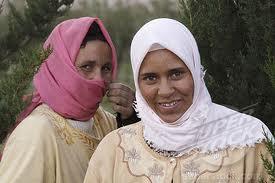 Vestido tradicional berbere.