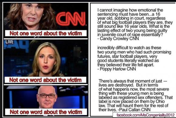 CNN se preocupa com estupradores e não tem uma palavra para as vítimas.  Fotos: Michael M'Gehee.  Repita Offender: De Ohio para o Iraque, Concern Curioso, da CNN, para os agressores.