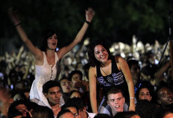 Jóvenes cubanos. Foto: Ismael Francisco/Cubadebate.