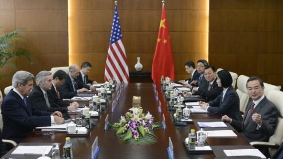 Encuentro de alto nivel entre China y Estados Unidos