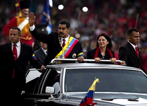 Maduro desfile
