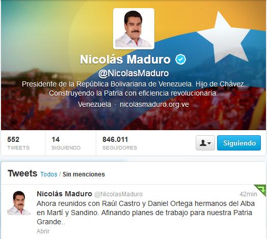 Maduro reunión con raul