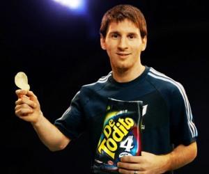 Messi Publicidad