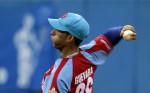 Yander Guevara, lanzador ganador del partido. Foto: Ladyrene Pérez/Cubadebate.
