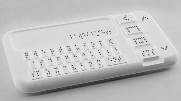 Crean primer teléfono inteligente para invidentes